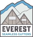 Everest Seamless Gutters Logo