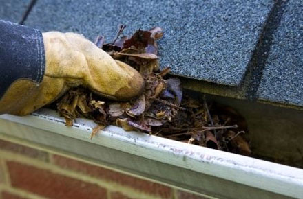 TruGuard protects gutters from getting clogged with leaves and debris